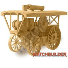 Hobby's Matchbuilder c.1910 Steam Traction Engine Model Kit New FREE T48 Post
