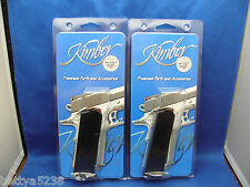TWO Factory Kimber 1911 Magazine 45 ACP Blue 8 Round clip Full Size 8 rd Mag