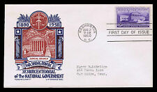 1950 U.S. #991 1ST DAY COVER - SESQUICENTENNIAL OF NAT'L. GOV'T. - VF (ESP#4266)