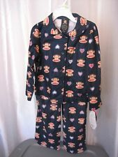 Paul Frank Small Paul Infant Girl's Blue 2 Piece Pajama Set Sz 18M NWWT Top/Pant