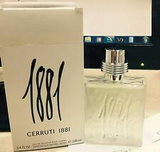 1881 by Nino Cerruti 3.3 / 3.4 oz Men edt Cologne Spray Tester box