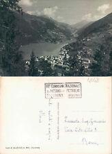 LAGO DI ALLEGHE m.980 - VEDUTA PANORAMICA      (rif.fg.4048 BIS)