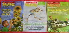 3 SCHOLASTIC NEWS WEEKLY READER ISSUES APRIL 2014 SUNFLOWER BUTTERFLIES GRADE 1