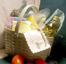 Gift Basket - Italian Dinner ~olive oil, spices, vinegar, pasta, recipes