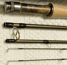 10ft 3/4wt 4 section Nymph Fly Rod with EXTRA TIP rod tube with internal divider