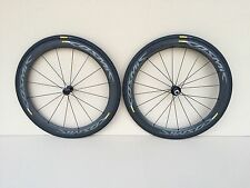 New! Mavic Cosmic Pro Carbon Exalith Clincher Wheelset 11-Speed Shimano/Sram Hub