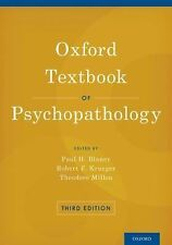 OXFORD TEXTBOOK OF PSYC - PAUL H. BLANEY, ET AL. THEODORE MILLON (HARDCOVER) NEW