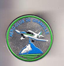 RARE PINS PIN'S .. TOURISME AVION AEROCLUB GRANVILLE MONT ST SAINT MICHEL 50 ~CH