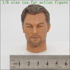 L29-38 1/6 scale inception Leonardo DiCaprio Head Sculpt