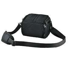 ALS Black Camera Case Bag for Sony CYBER SHOT DSC HX200V HX100V H200