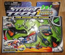Street Tech Geospace 3 in1 Custom Chopper Interchangeable Parts Motorcycle NIB