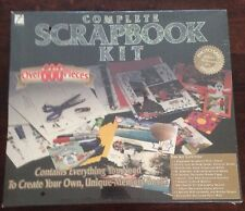 NEW Complete Scrapbook Kit by Thompson. (1997). Over 600 Pieces.