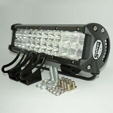 12'' 72W CREE LED WORK LIGHT BAR OFFROAD 4X4 ATV car Truck fog LAMP combo VS 36W