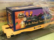 LGB 44858 G Scale Pride of Dixie Midnight Train to Georgia container wagon mint
