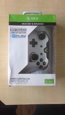 NUOVA Argento Metallico Wired Controller Per Xbox 360 & Windows - 1st Class consegna