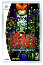 HEAVY METAL GEOMATRIX SEGA DREAMCAST FRIDGE MAGNET IMAN NEVERA