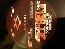 "Chase & Status- Against All odds ft Kano 12"" Xample & Dubstep Remix Ram Records"