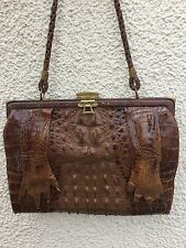 TRUE VINTAGE 20's 30's DECO CROCODILE ALLIGATOR CLAW BAG ANTIQUE RARE