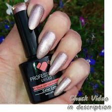 Pl011 VB ™ linea platino rosa oro metallizzato - 8ml Smalto Gel Unghie-vbline-CO-UK
