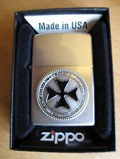 Zippo Iron Cross EK1 1914 Honour and Commemorate Homeland Fallen WWI WH OVP