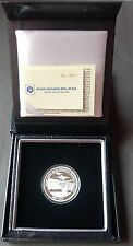 MALAYSIAN ARMED FORCES SILVER SET WITH LOW CERT. NO. 0073