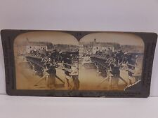 Antique Stereoview Card #18715 Famous Bridge Over the Marne By Keystone View