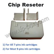 Chip Resetter For refill ALL Epson 7-pin and many 9-pin Ink Cartridge RESET CHIP