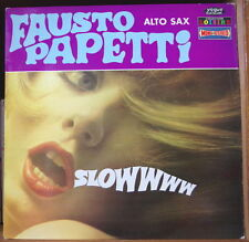 FAUSTO PAPETTI  SLOWWWW CHEESECAKE COVER FRENCH LP DURIUM