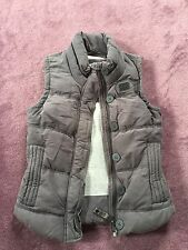 Ladies Gillet Superdry Extra Small. Grey. Great For SPRING
