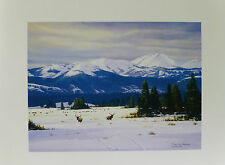Reid Christie Western Art Wyoming Yellowstone Signed Print Personalized!!!