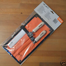 "Genuine Stihl MS201T MS200T 020T Chainsaw Sharpening Kit 3/8"" P 4mm 5/32 Tracked"