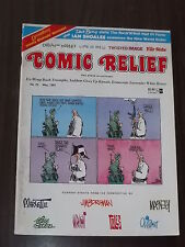 COMIC RELIEF #23 MAY 1991 FAR SIDE LIFE IN HELL CALVIN AND HOBBES US MAGAZINE^