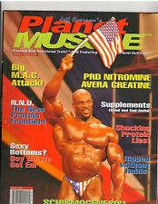 Planet Muscle bodybuilding muscle BOTTOMS UP VOL 4, NO 6 | 2001,Ronnie Coleman