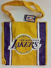 NBA Los Angeles Lakers Reusable Canvas Shopping Tote, New