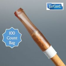 TarGard Original Disposable Cigarette Filter - Amber Color - 100 Count Bulk Bag