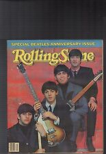 The Beatles Anniversary Issue Rolling Stone 1984 With Rare Alternate Cover