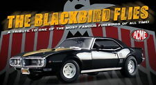 1968 PONTIAC BLACKBIRD ACME 1:18 FIREBIRD GM VINTAGE DRAG RACE GMP A1805201