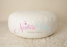 Newborn Baby Posing Beanbag Photography Unfilled