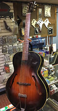 "VINTAGE 1938 GIBSON L-50 16"" JAZZ ACOUSTIC ARCHTOP GUITAR 1939 Pre war Carvedtop"