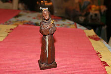 Vintage Miniature Wood Carving Religious Christian Saint-Catholic-Jesus-Crucifix