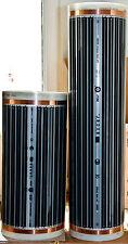 Calefacción Suelo Radiante Eléctrico, Infrarrojo - 1m (0,5m x 1m), 110W/1m, 220V