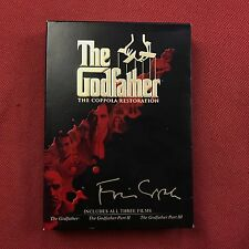 The Godfather The Coppola Restoration 3 Movie Set Parts I II III Supplements