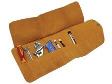Faithfull failtr10 10 poches cuir outil roll TR10 toolroll