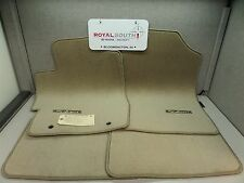 Toyota Solara Coupe Ivory Carpet Floor Mats Genuine OEM OE