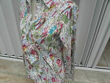 FLAMECO CHIC BRAND STRETCH MEXICAN BLOUSE TOP RITZ CARLTON CANCUN NWT XL LARGE