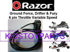 Razor Ground Force Drifter Scooter Thumb Throttle  6 Pins / 6 Wires