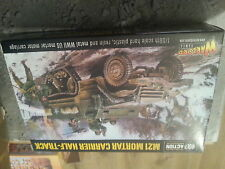 WARLORD GAMES BOLT ACTION U.S. M21 MORTAR CARRIER HALF TRACK 28MM 1/56 SCALE