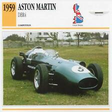 1959 ASTON MARTIN DBR4 Racing Classic Car Photo/Info Maxi Card