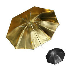 Studio Reflector Umbrella gold Ø 84 cm / 33""