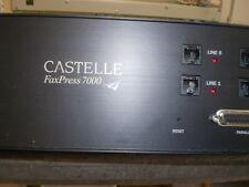CASTELLE FAXPRESS 7000 PLUG & FORGET FAX SERVER